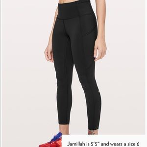 Lululemon Fast and Free 7/8 Tight Non-reflective.